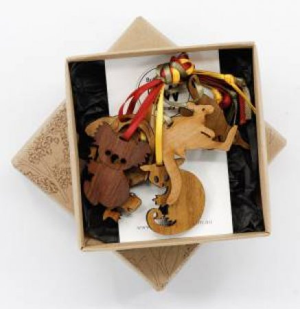 Buttonworks Box Of Aussie Animals by Various