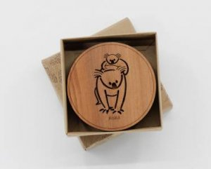 Buttonworks Animal Coasters Round by Various