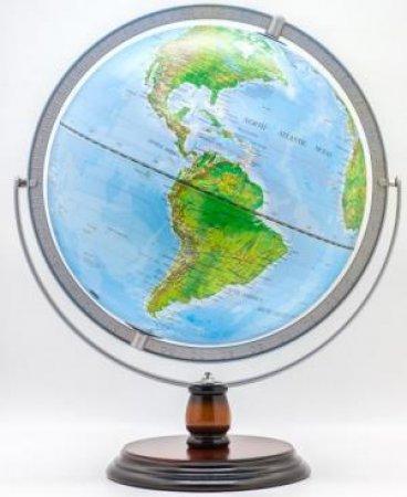 30cm Blue Ocean Full Meridian Globe by Various