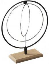 Kinetic Hoop Sculpture