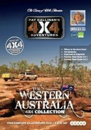 Western Australia 4X4 Collection 5 DVD Set by Pat Callinan