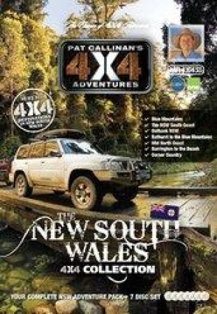 New South Wales 4X4 Collection 7 DVD Set by Pat Callinan