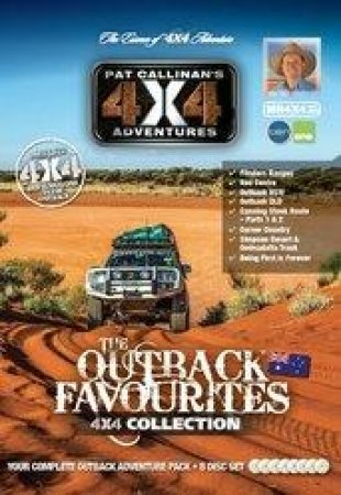 Outback Favourites 4x4 Collection 8 DVD Set by Pat Callinan