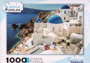 Scenic 1000 Piece Puzzles: Santorini, Greece