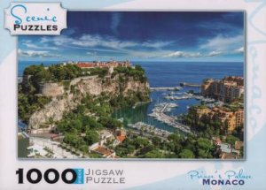 Scenic 1000 Piece Puzzles: Prince's Palace, Monaco