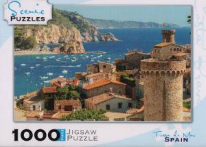Scenic 1000 Piece Puzzles: Tossa del mar, Costa Brava, Spain by Various