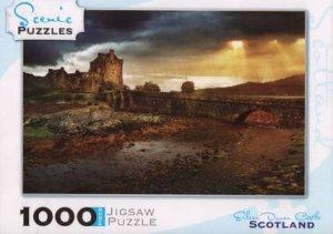 Scenic 1000 Piece Puzzles: Eilean Donan Castle, Scotland
