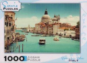 Scenic 1000 Piece Puzzles: Grand Canal Basilaca, Santa Maria Salute, Venice