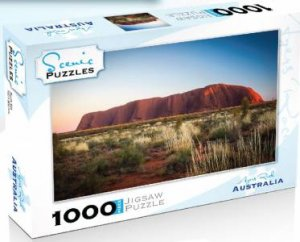 Scenic 1000 Piece Puzzles: Ayers Rock, Australia by Various
