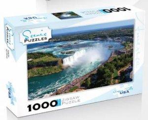 Scenic 1000 Piece Puzzles: Niagara Falls, USA