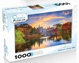 Scenic 1000 Piece Puzzles: Central Park, NY