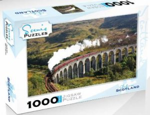 Scenic 1000 Piece Puzzles: Glenfinnan Viaduct, Scotland