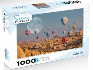 Scenic 1000 Piece Puzzles: Cappadocia, Turkey