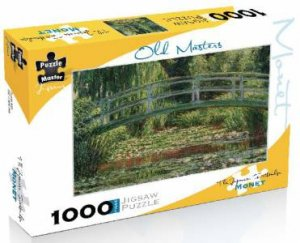 Old Masters 1000 Piece Puzzle: Monet