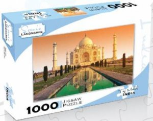 Scenic Landmarks 1000 Piece Puzzle: Taj Mahal, India by Various