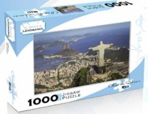 Scenic Landmarks 1000 Piece Puzzle: Christ The Redeemer, Rio De Janeiro by Various