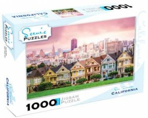 Scenic 1000 Piece Puzzles: San Francisco, California