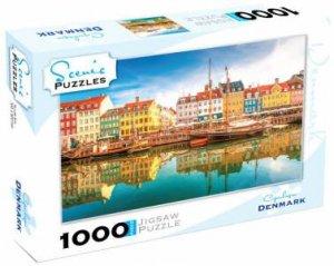 Scenic 1000 Piece Puzzles: Copenhagen, Denmark by Various