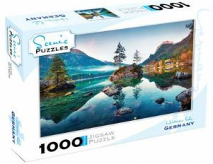 Scenic 1000 Piece Puzzles: Hintersee Lake, Germany