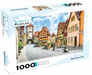 Scenic 1000 Piece Puzzles: Franconia, Germany by Various