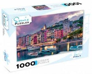 Scenic 1000 Piece Puzzles: Liguria, Italy