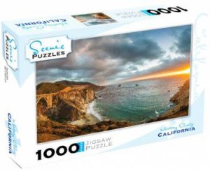 Scenic 1000 Piece Puzzles: Monterey County, California