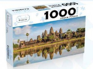 Scenic 1000 Piece Puzzles: Angkor Wat Cambodia