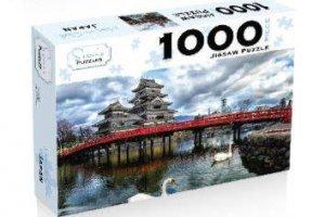 Scenic 1000 Piece Puzzles: Matsumoto Castle Japan