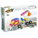 Mini Construct It Kit Back Hoe Truck