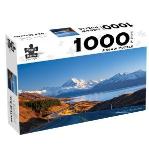 Puzzle Master 1000 Piece Puzzles: Mount Cook, New Zealand