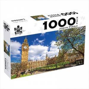 Puzzle Master 1000 Piece Puzzles: Westminster, London