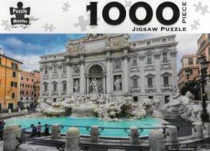 Puzzle Master 1000 Piece Puzzles: Trevi Fountain, Rome