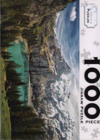 Scenic 1000 Piece Puzzles: Berner Oberland, Switzerland