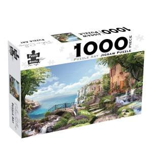 Puzzle Art 1000 Piece Jigsaw: Italian Collage