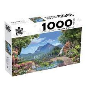 Puzzle Art 1000 Piece Jigsaw: Mountain Vista