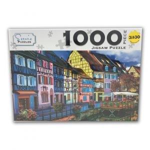 Scenic 1000 Piece Puzzles: Colmar Alsace France