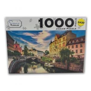 Scenic 1000 Piece Puzzles: Ljubljana Slovenia