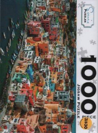 Scenic 1000 Piece Puzzles: Procida Island Italy