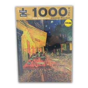 Old Masters 1000 Piece Puzzle: Van Gogh - Café Terrace
