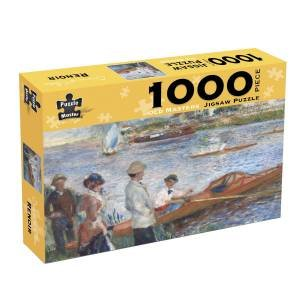 Old Masters 1000 Piece Puzzle: Renoir Oarsman At Chatou