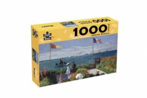 Old Masters 1000 Piece Puzzle: Monet – Garden At Saint-Adresse