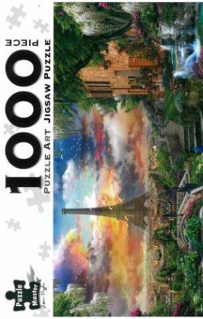 Puzzle Art 1000 Piece Jigsaw: Paris Oasis