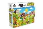 48 Piece Jumbo Floor Puzzle Farm