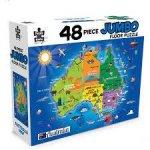 48 Piece Jumbo Floor Puzzle Aussie Map