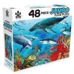 48 Piece Jumbo Floor Puzzle Underwater World