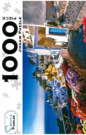 Scenic 1000 Piece Puzzles: Oia Village, Santorini