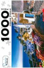 Scenic 1000 Piece Puzzles Oia Village Santorini