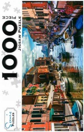 Scenic 1000 Piece Puzzles: Island Murano, Venice, Italy