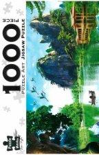 Puzzle Art 1000 Piece Jigsaw Oriental Lake