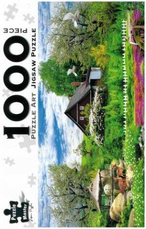 Puzzle Art 1000 Piece Jigsaw: Fantasy Farm